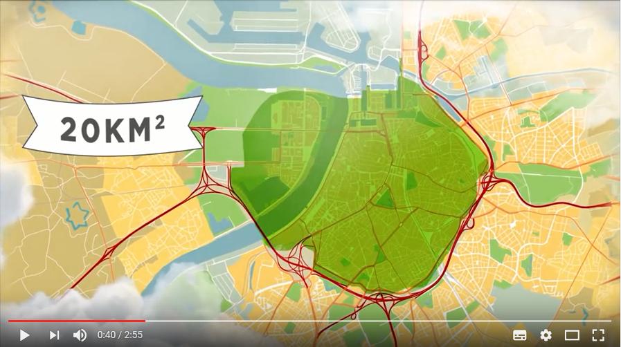 Milieuzone In Binnenstad Antwerpen Verkeerskunde