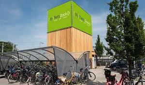 Fietsdocktoren in Rotterdam